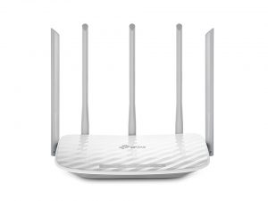 Roteador TP Link Wireless Dual Band AC1350 - Archer C60 - 5 antenas