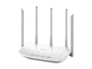 Roteador TP Link Wireless Dual Band AC1350 - Archer C60 - 5 anteas