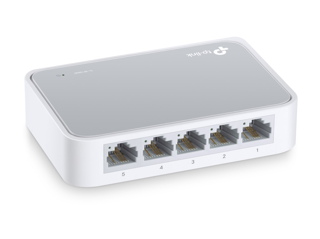 Switch TP Link de Mesa 5 Portas TL-SF1005D